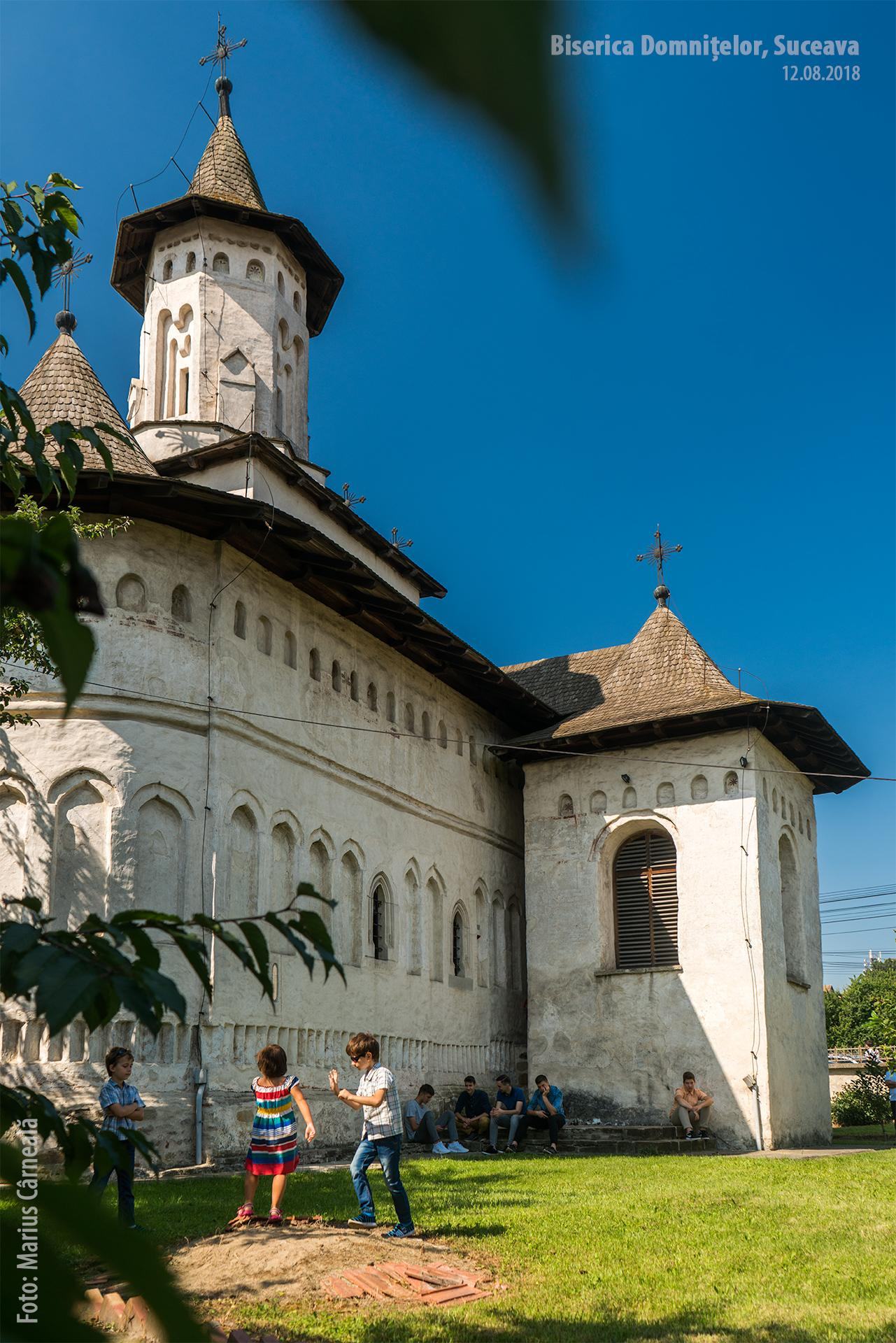 Biserica Domnitelor, Suceava - vedere dinspre nord-est
