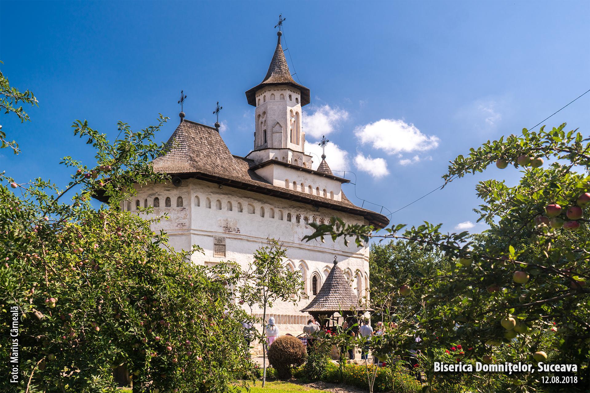 Biserica Domnitelor, Suceava - vedere dinspre sud-vest
